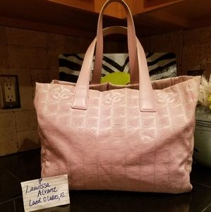 CC Travel Line Pink Tote